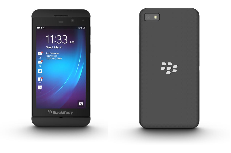Le nouveau smartphone tactile Z10 de BlackBerry - Dépannage et formation informatique Paris 11 75011