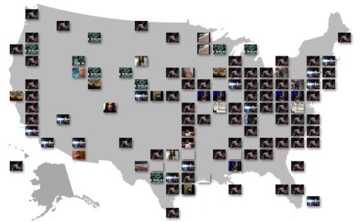 Carte des Etats Unis Youtube - dépannage, maintenance, suppression de virus et formation informatique sur Paris 5ème 75005